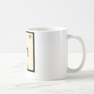 En - Egg Nog Chemistry Periodic Table Symbol Coffee Mug