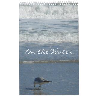 """""""En el agua"""" ~12 meses de vistas al mar Calendario De Pared"""