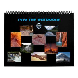 En el aire libre 2012 (edición de la galería) calendarios
