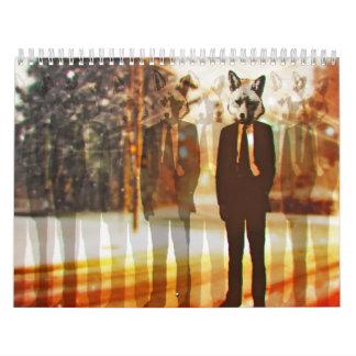 En el año 2012 calendario de pared