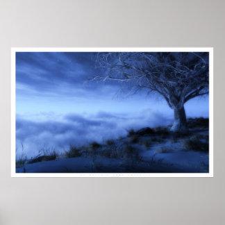 En el borde del mundo (invierno) póster