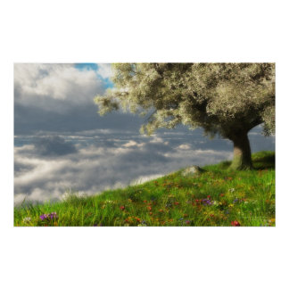 En el borde del mundo (primavera) póster