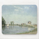 En el borde del río, 1871 tapete de raton