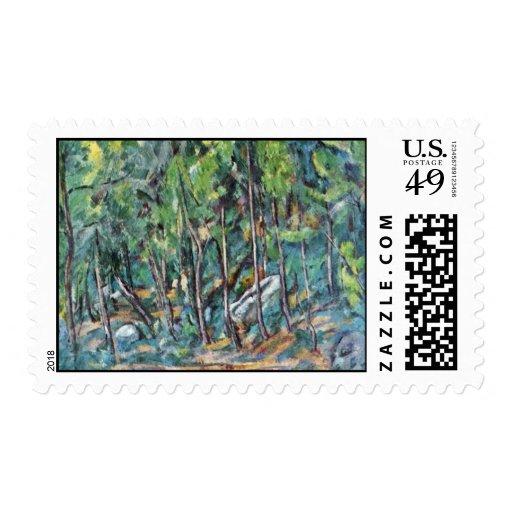 En el bosque de Fontainebleau de Paul Cézanne Envio