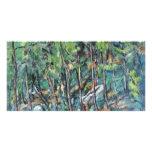 En el bosque de Fontainebleau de Paul Cézanne Tarjetas Fotográficas