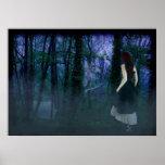 En el bosque místico impresiones