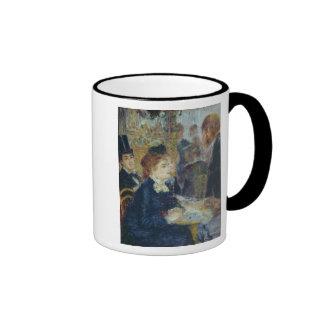 En el café, c.1877 tazas de café