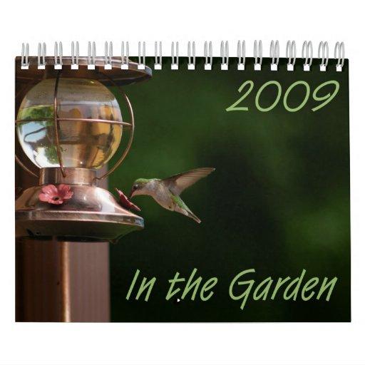 En el calendario del jardín