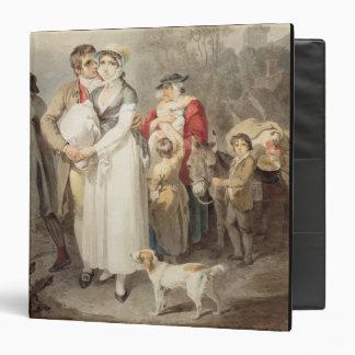 En el camino, 1799 (w/c sobre rastros de lápiz en