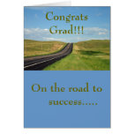 En el camino al éxito ...... Gradua… - Modificado Tarjeta De Felicitación