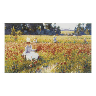 En el campo de Flandes, Roberto Vonnoh Póster