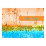 En el campo, plantilla colorida de los businesscar plantilla de tarjeta personal
