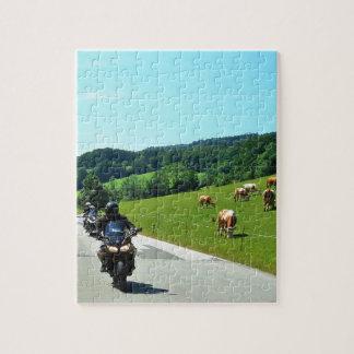 En el canal Austria 01 de la moto Rompecabeza Con Fotos