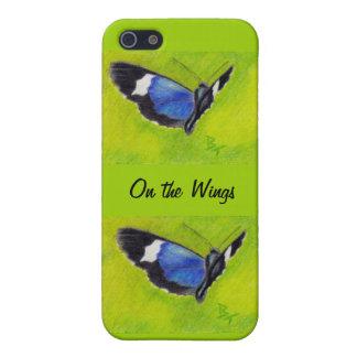 En el caso de IPhone 4 de la mariposa del aceo de iPhone 5 Carcasas