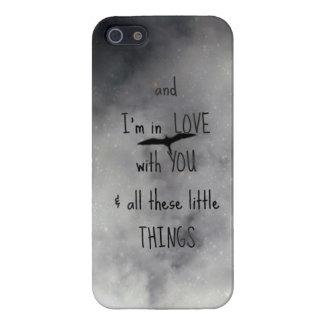 En el caso de Iphone 5 del amor iPhone 5 Fundas
