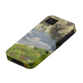 En el caso duro de la primavera del borde del iPhone 4/4S carcasa