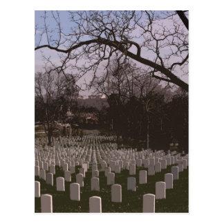 En el cementerio nacional de Arlington Postal