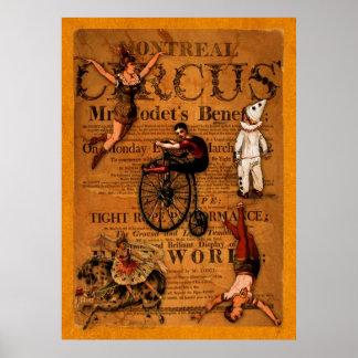 En el circo póster