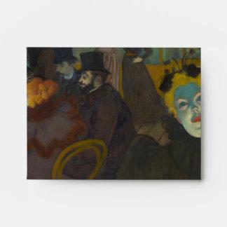 En el colorete de Enrique de Toulouse-Lautrec Sobres
