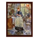 En el comedor de Morisot Berthe Postales