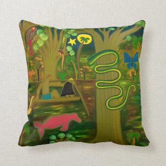 En el corazón del río Amazonas 2010 Cojín Decorativo