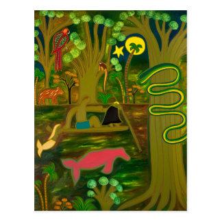 En el corazón del río Amazonas 2010 Tarjetas Postales