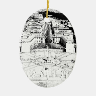 En el cuadrado de Peter Adorno De Navidad