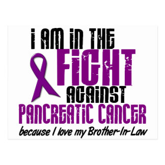 En el CUÑADO del cáncer pancreático de la lucha Tarjeta Postal