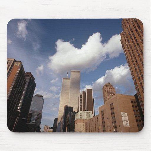 En el ~ de Memoriam en memoria de las torres Alfombrillas De Ratones