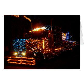 En el desfile de la luz eléctrica, Las Vegas, nanó Tarjeta De Felicitación