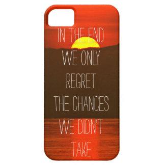 En el extremo solamente el pesar las ocasiones iPhone 5 funda