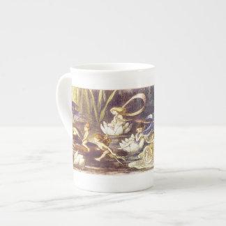 En el Fairyland - taza de la porcelana de hueso Tazas De China