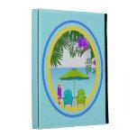 En el folio del iPad de Caseable de la playa