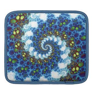 En el fractal espiral de las nubes funda para iPads