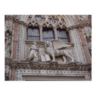 En el frente de los duxes palacio, Squar de St Postal