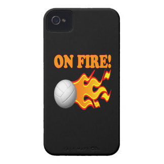 En el fuego Case-Mate iPhone 4 carcasa