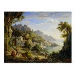 En el golfo de Salerno, 1826 Postales