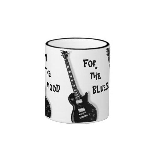 EN el HUMOR PARA la taza de cerámica de la guitarr