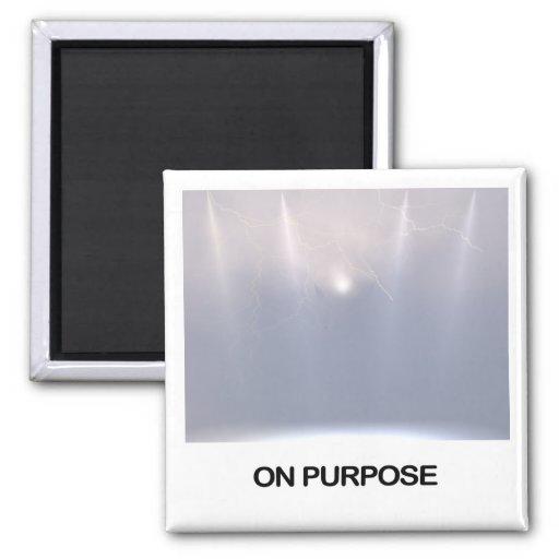 En el imán del propósito