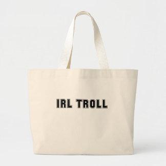 En el Internet Meme del duende de IRL de la vida r Bolsas De Mano
