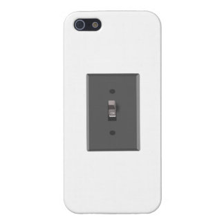En el interruptor de la luz eléctrico iPhone 5 cárcasa