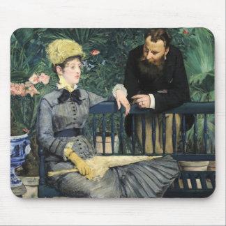 En el invernadero, Édouard Manet Tapetes De Ratones