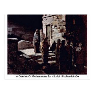 En el jardín de Gethsemane de Nikolai Nikolaevich  Postales
