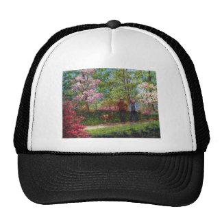 En el jardín de la azalea gorra