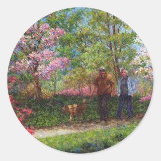 En el jardín de la azalea etiquetas