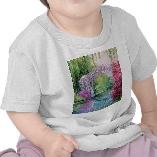 en el jardín de Monet Camiseta