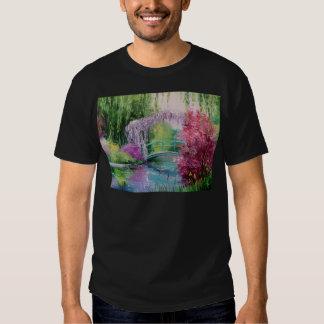 en el jardín de Monet Remera