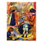 En el Jardin du Luxemburgo de Pedro Renoir Tarjeta Postal