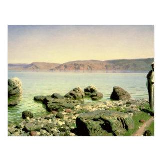 En el mar de Galilea, 1888 Postales