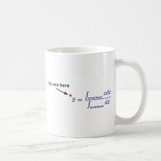 En el medio de en ninguna parte taza de café
